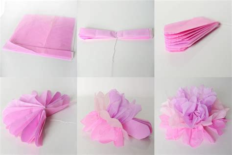 How Do You Make A Out Of Tissue Paper - diy paper flower projects recycled things