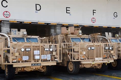 Army Car Shipping Ports by More Than 1 000 Vehicles Return From Afghanistan Gov Uk