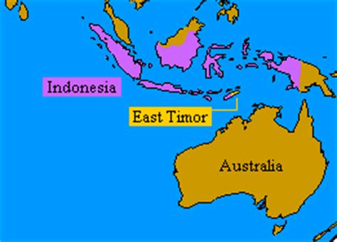 where is east timor located on the world map east timor world map images