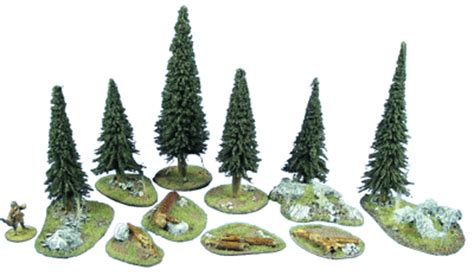 25mm 28mm tree sets