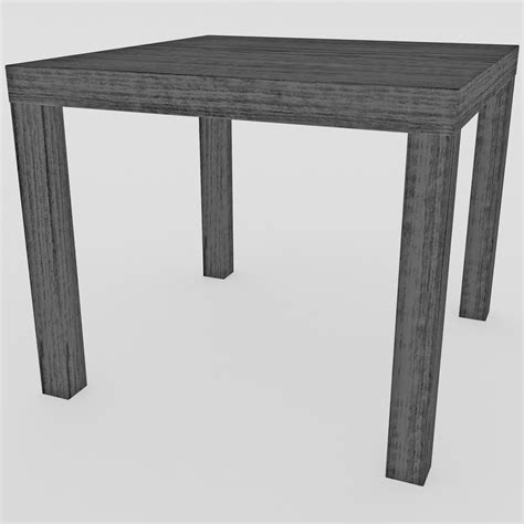 Lack Side Table Ikea Lack Table 3d Model