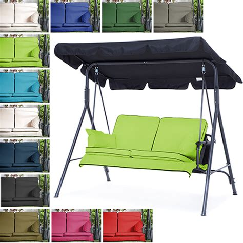 swing seat cushions replacement replacement swing seat hammock cushions set for 2 3