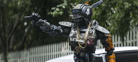 Film Robot Gangster | like short circuit for knuckleheads chappie reviewed