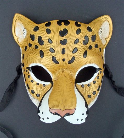how to make a jaguar mask how to draw jaguar masks