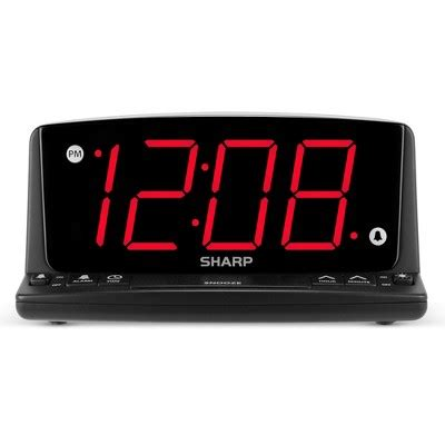 sharp led light alarm clock sharp led light alarm clock target