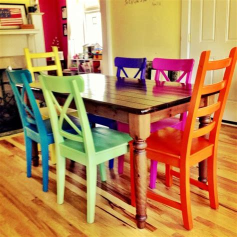 Rustoleum Spray Painted Chairs These Remind Me Of All | rustoleum spray painted chairs these remind me of all