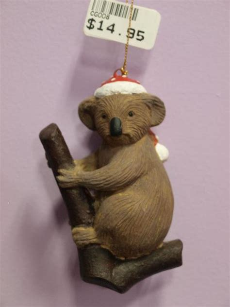 koala nativity koala resin hanging ornament 4 you