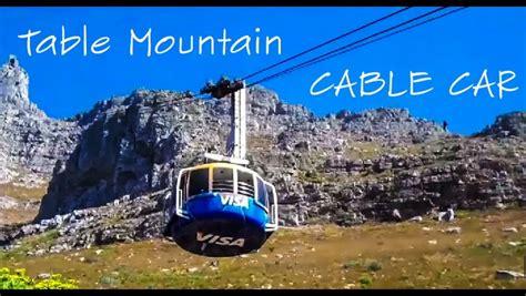 table mountain cable car table mountain cable car