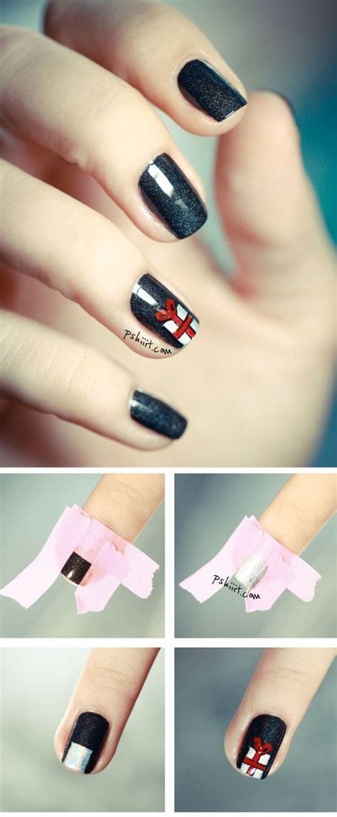 christmas nail art tutorial videos tuto nail art ongles d hiver et vari 233 s nail art