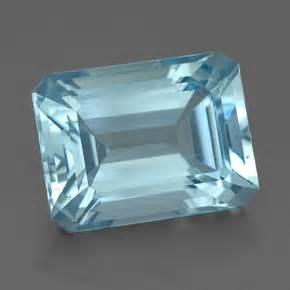 4ct light blue aquamarine gem from india karur