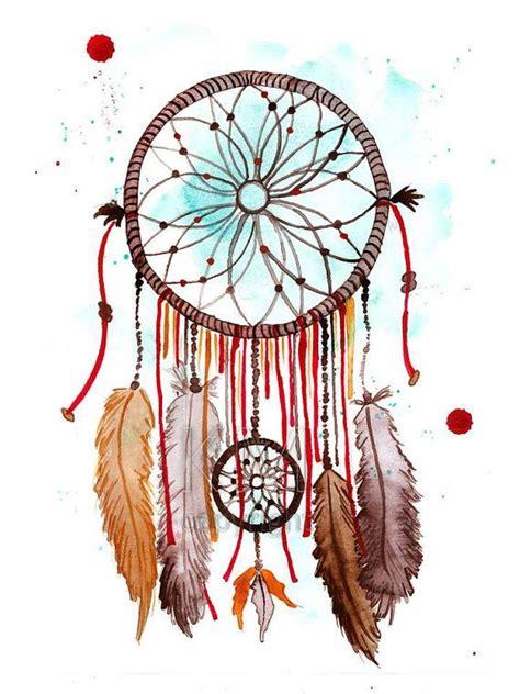 best 25 watercolor dreamcatcher tattoo ideas on pinterest
