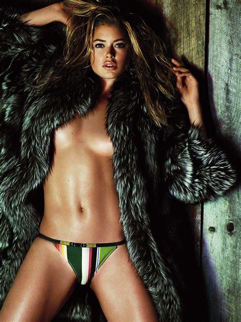 Celebrity Nude And Famous Doutzen Kroes Famous Dutch Model Topless