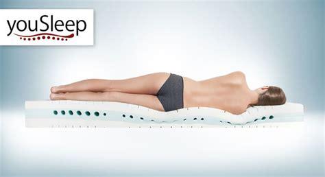 matratze you sleep 700 weiche kaltschaummatratze mit aloe vera bezug kaufen