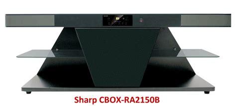 speaker aktif sharp cbox rab rack home theater  harga