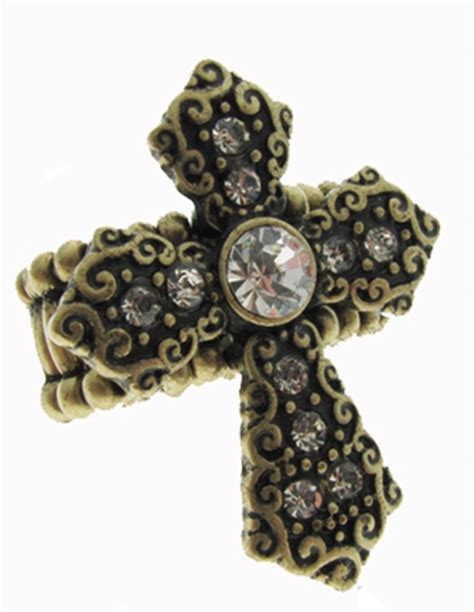 4030289 cross stretch ring christian scripture religious