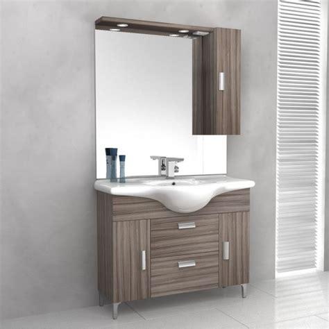 lavabo e mobile bagno baden haus mobile da bagno 85 cm rovereto larice