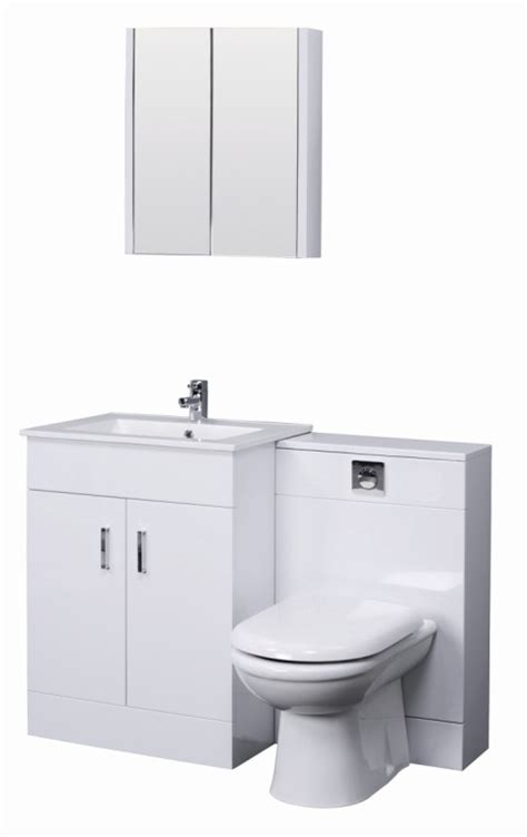 Wc Vanity Unit by Turin Gloss White Cloakroom Suite Includes Wc Unit 600mm