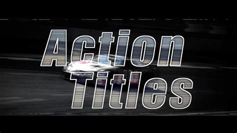 action titles