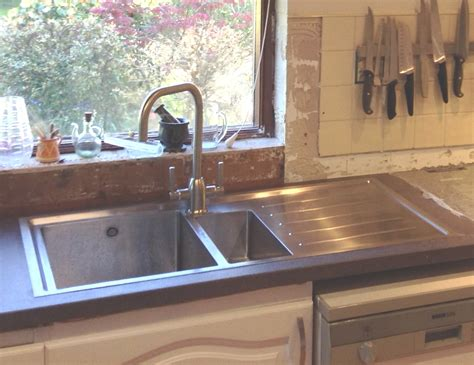 Brushed Steel Kitchen Sink Chrome Or Brushed Steel Finish Kitchen Tap For Your Kitchen Sink Taps And Sinks