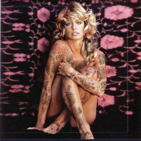 farrah tattoo photos re imagined with tattoos farrah fawcett