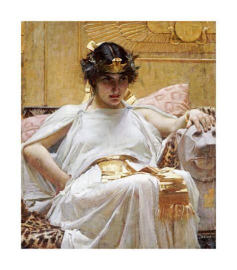 by john william waterhouse cleopatra cleopatra by john william waterhouse artinthepicture com
