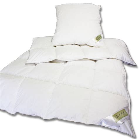 Bettdecken Und Kissen Set Günstig by Daunen Und Federn Betten Sets 135x200cm 80x80cm Kissen