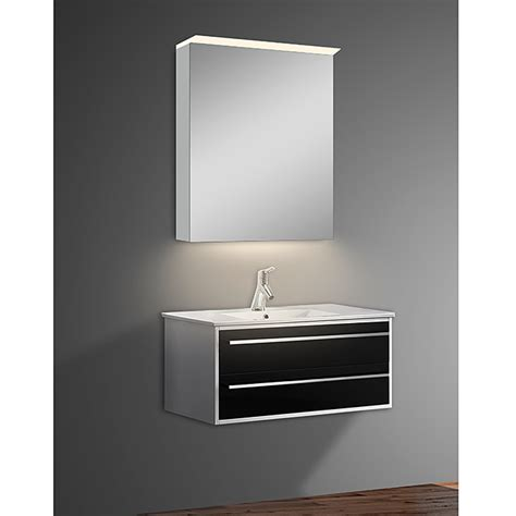 spiegelschrank beleuchtung anschließen led spiegelschrank aluminio light b x h 60 x 70 cm mit