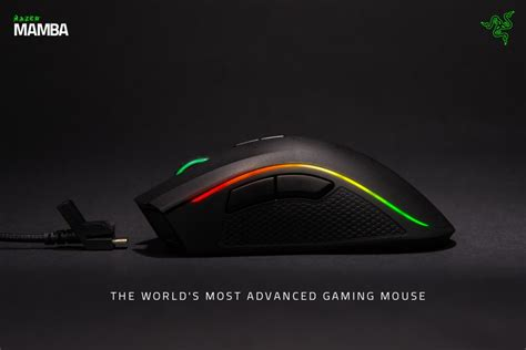 Mouse Razer Black Mamba razer announces new razer mamba wireless gaming mouse ubergizmo