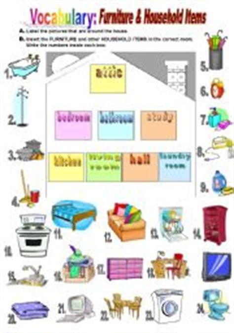 English teaching worksheets: Household chores