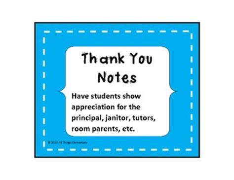 thank you letter from parents to school principal thank you notes bundle staff appreciation by all things