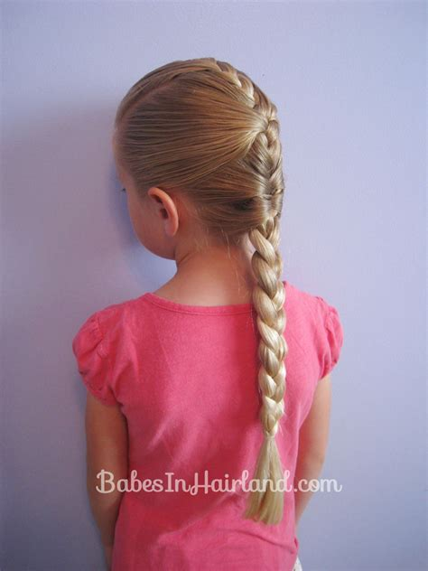 french braid hairstyles for girls french braid cheat hairstyle babes in hairland