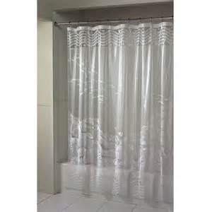 essential home shower curtain barrier reef vinyl shop
