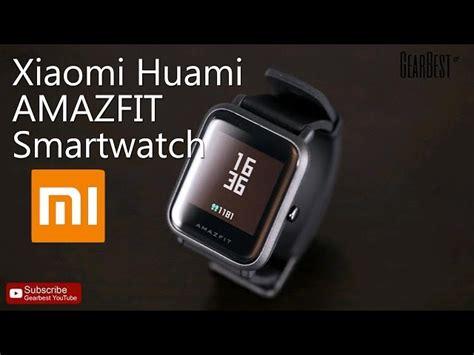 Amazfit Xiaomi Smartwatch Original Huami Version International original xiaomi huami amazfit smartwatch version 77 52 shopping gearbest