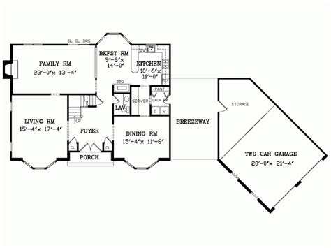 House Plans With Angled Garage by Angled Garage Family Room House Plans Home Floor A