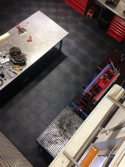 store werkstatt pvc werkstattfliesen im einsatz werkstatt storewerkstatt