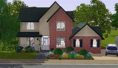 suburban house mod the sims the suburban house part i