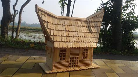 cara membuat rumah adat minang dari kardus cara membuat rumah adat batak dari kardus denah rumah