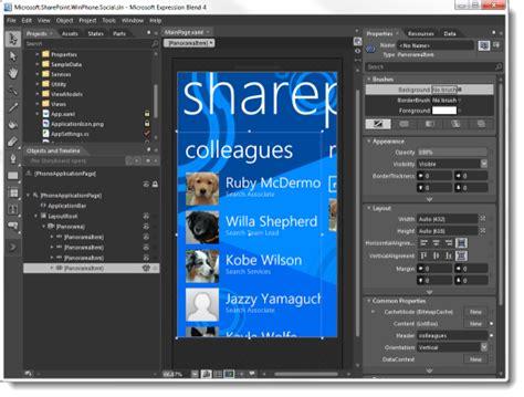 tutorial visual studio blend debugging design time data in visual studio and expression