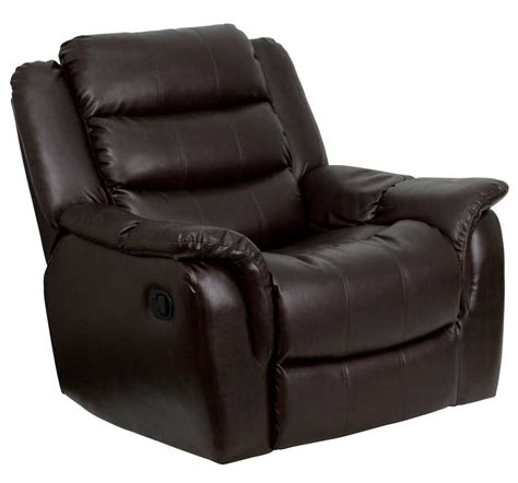 brown leather recliner armchair image gallery recliner armchairs