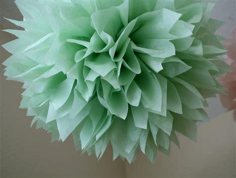 diy decorations tissue paper celery 1 tissue paper pom pom diy wedding decorations