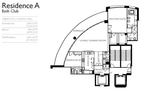 club floor plan bath club miami condo 5959 collins ave florida fl 33140 apartments for sale rent