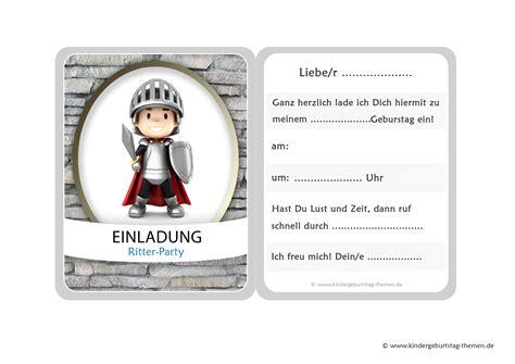 Vorlage Word Mittelalter ritter einladungskarten kostenlose vorlagen zum ausdrucken