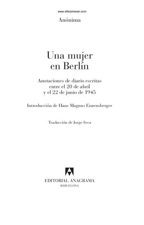 una librera en berln b01n1uqzd0 una mujer en berln