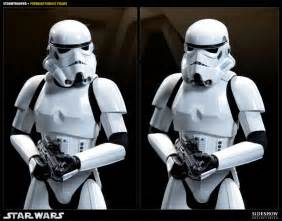 clone trooper wall display armor sideshow collectibles star wars stormtrooper