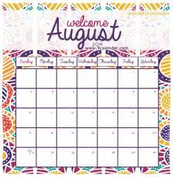august 2014 calendar template august 2014 calendar printable free