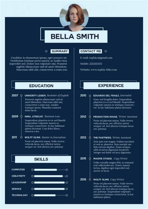 What Should A Job Resume Look Like by Adobe Illustrator Tutorial How To Create An Impressive Cv