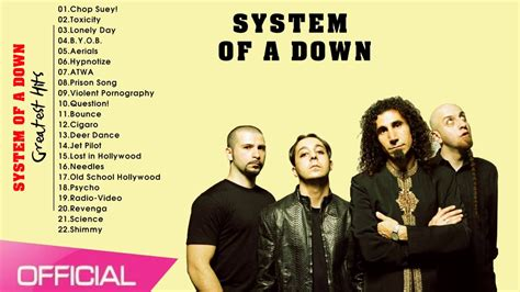 system of a best songs system of a greatest hits best songs of system of a