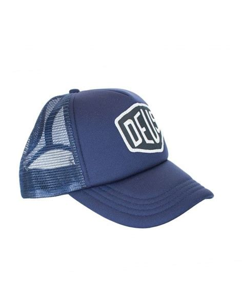 Topi Baseball Deus Ex Machina G60 deus baylands trucker cap navy deus ex machina