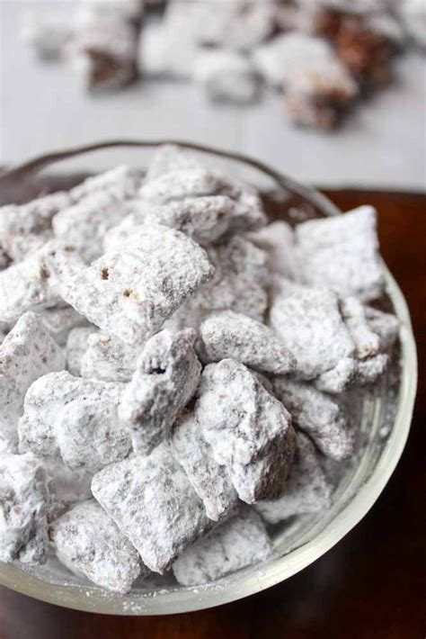 best puppy chow recipe puppy chow with cookie butter what molly made