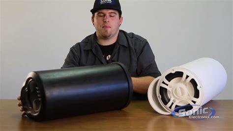 boat speaker tubes bazooka bass tubes subwoofer for car and boat youtube